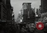Image of Time Square New York City USA, 1948, second 52 stock footage video 65675032737