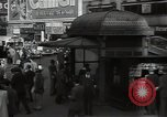 Image of Time Square New York City USA, 1948, second 55 stock footage video 65675032737