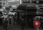 Image of Time Square New York City USA, 1948, second 57 stock footage video 65675032737