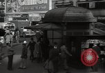 Image of Time Square New York City USA, 1948, second 60 stock footage video 65675032737