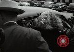 Image of Mildred Gillars aka Axis Sally arriving for trial Washington DC USA, 1948, second 27 stock footage video 65675032739