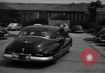 Image of Mildred Gillars aka Axis Sally arriving for trial Washington DC USA, 1948, second 35 stock footage video 65675032739