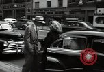 Image of Mildred Gillars aka Axis Sally arriving for trial Washington DC USA, 1948, second 38 stock footage video 65675032739