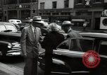 Image of Mildred Gillars aka Axis Sally arriving for trial Washington DC USA, 1948, second 39 stock footage video 65675032739