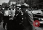 Image of Mildred Gillars aka Axis Sally arriving for trial Washington DC USA, 1948, second 44 stock footage video 65675032739