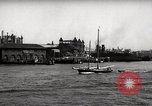 Image of skyscrapers Ellis Island New York USA, 1948, second 44 stock footage video 65675032740