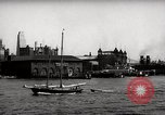 Image of skyscrapers Ellis Island New York USA, 1948, second 50 stock footage video 65675032740