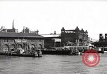 Image of skyscrapers Ellis Island New York USA, 1948, second 59 stock footage video 65675032740