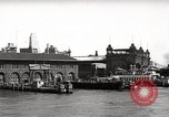 Image of skyscrapers Ellis Island New York USA, 1948, second 62 stock footage video 65675032740