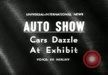 Image of 6th Annual International Automobile Show New York United States USA, 1962, second 3 stock footage video 65675032766