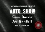 Image of 6th Annual International Automobile Show New York United States USA, 1962, second 4 stock footage video 65675032766