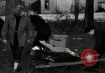 Image of People cleaning up a lot for use as a playground Monroe New York USA, 1950, second 6 stock footage video 65675032772