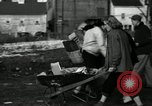 Image of People cleaning up a lot for use as a playground Monroe New York USA, 1950, second 13 stock footage video 65675032772