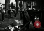 Image of People cleaning up a lot for use as a playground Monroe New York USA, 1950, second 18 stock footage video 65675032772