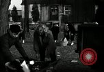 Image of People cleaning up a lot for use as a playground Monroe New York USA, 1950, second 22 stock footage video 65675032772