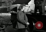 Image of People cleaning up a lot for use as a playground Monroe New York USA, 1950, second 37 stock footage video 65675032772
