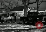 Image of People cleaning up a lot for use as a playground Monroe New York USA, 1950, second 44 stock footage video 65675032772