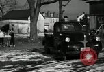 Image of People cleaning up a lot for use as a playground Monroe New York USA, 1950, second 46 stock footage video 65675032772