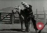 Image of Roundup of wild horses United States USA, 1943, second 39 stock footage video 65675032777