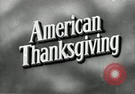 Image of American family preparing Thanksgiving dinner United States USA, 1954, second 3 stock footage video 65675032785
