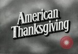 Image of American family preparing Thanksgiving dinner United States USA, 1954, second 5 stock footage video 65675032785