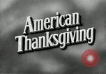 Image of American family preparing Thanksgiving dinner United States USA, 1954, second 6 stock footage video 65675032785