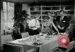 Image of American family preparing Thanksgiving dinner United States USA, 1954, second 44 stock footage video 65675032785