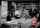 Image of American family preparing Thanksgiving dinner United States USA, 1954, second 45 stock footage video 65675032785