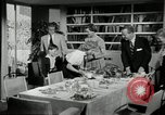 Image of American family preparing Thanksgiving dinner United States USA, 1954, second 46 stock footage video 65675032785