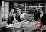 Image of American family preparing Thanksgiving dinner United States USA, 1954, second 47 stock footage video 65675032785