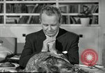 Image of American family preparing Thanksgiving dinner United States USA, 1954, second 56 stock footage video 65675032785