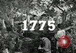Image of American colonial militia United States USA, 1954, second 14 stock footage video 65675032786