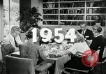 Image of American family celebrating Thanksgiving Day United States USA, 1954, second 3 stock footage video 65675032791