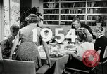 Image of American family celebrating Thanksgiving Day United States USA, 1954, second 5 stock footage video 65675032791