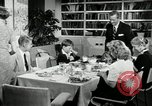 Image of American family celebrating Thanksgiving Day United States USA, 1954, second 6 stock footage video 65675032791