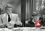 Image of American family celebrating Thanksgiving Day United States USA, 1954, second 7 stock footage video 65675032791