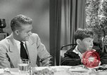 Image of American family celebrating Thanksgiving Day United States USA, 1954, second 11 stock footage video 65675032791