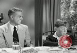 Image of American family celebrating Thanksgiving Day United States USA, 1954, second 13 stock footage video 65675032791