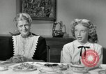 Image of American family celebrating Thanksgiving Day United States USA, 1954, second 22 stock footage video 65675032791
