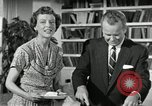 Image of American family celebrating Thanksgiving Day United States USA, 1954, second 36 stock footage video 65675032791