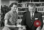 Image of American family celebrating Thanksgiving Day United States USA, 1954, second 37 stock footage video 65675032791