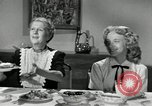 Image of American family celebrating Thanksgiving Day United States USA, 1954, second 38 stock footage video 65675032791