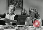 Image of American family celebrating Thanksgiving Day United States USA, 1954, second 39 stock footage video 65675032791