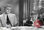 Image of American family celebrating Thanksgiving Day United States USA, 1954, second 55 stock footage video 65675032791
