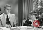 Image of American family celebrating Thanksgiving Day United States USA, 1954, second 57 stock footage video 65675032791