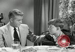 Image of American family celebrating Thanksgiving Day United States USA, 1954, second 59 stock footage video 65675032791