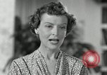 Image of American family celebrating Thanksgiving Day United States USA, 1954, second 61 stock footage video 65675032791