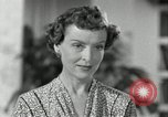 Image of American family celebrating Thanksgiving Day United States USA, 1954, second 62 stock footage video 65675032791