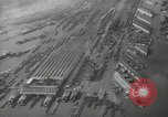 Image of Aerial view New York City and Manhattan Island New York City USA, 1939, second 20 stock footage video 65675032800