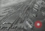 Image of Aerial view New York City and Manhattan Island New York City USA, 1939, second 21 stock footage video 65675032800
